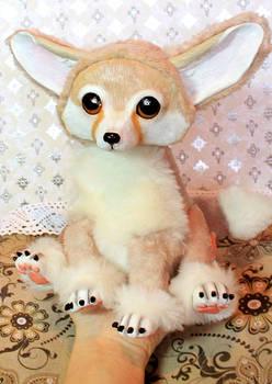 Art doll. Fennec fox. sold