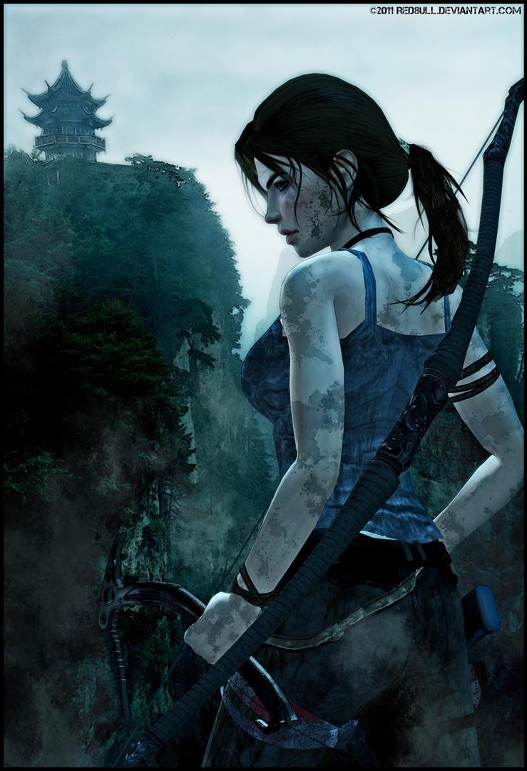 Lara Croft-A Survivor Is Born by ReD8ull
