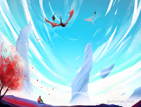 Dragon's sky
