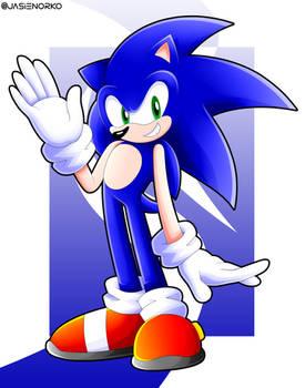 Sonic The Hedgehog!