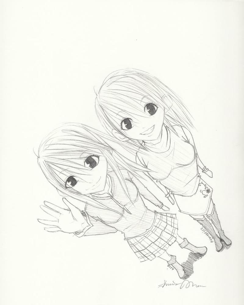 twins again by akahey