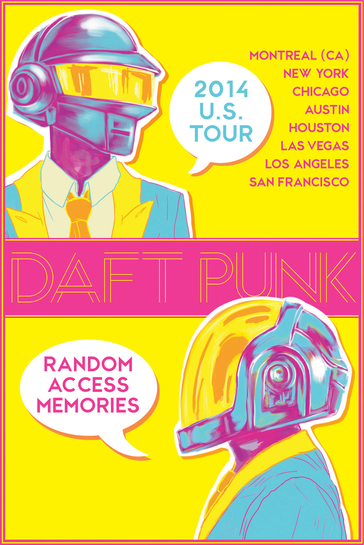 DAFT PUNK: RAM Tour by Lobsterbeef on DeviantArt