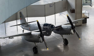 Ikarus 451 - Serbian prototype plane from '50s