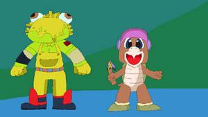 Guaco and Hammer Bro