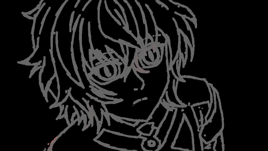 Mikaela Hyakuya WIP fast sketch by yuukiXakira