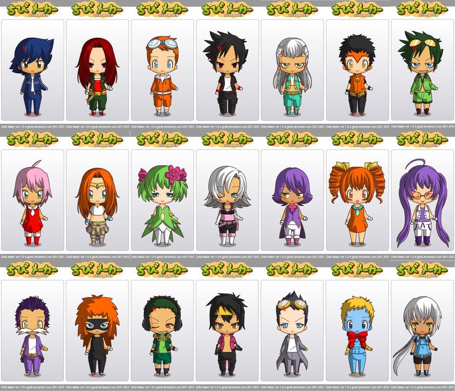 Cat Avatar Maker 2: Chibi Maker Sonic Group By Miyukiyo On DeviantArt