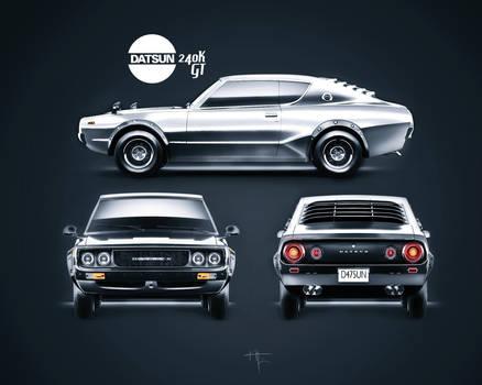 Datsun Catalogue Shot