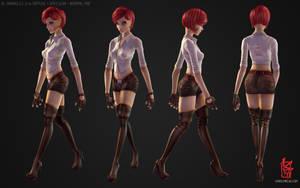 Ginger Jane by KMiklas