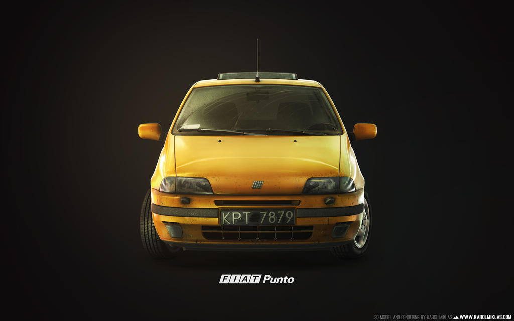 1993 FIAT Punto GT by KMiklas
