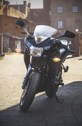 Ciri the motorbike.