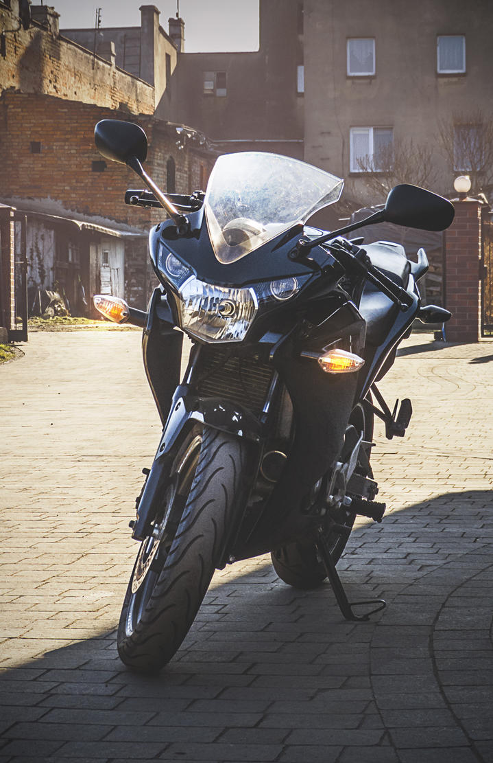 Ciri the motorbike. by KMiklas