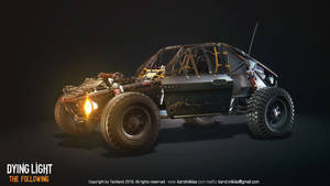 Dying Light: The Following Buggy by KMiklas