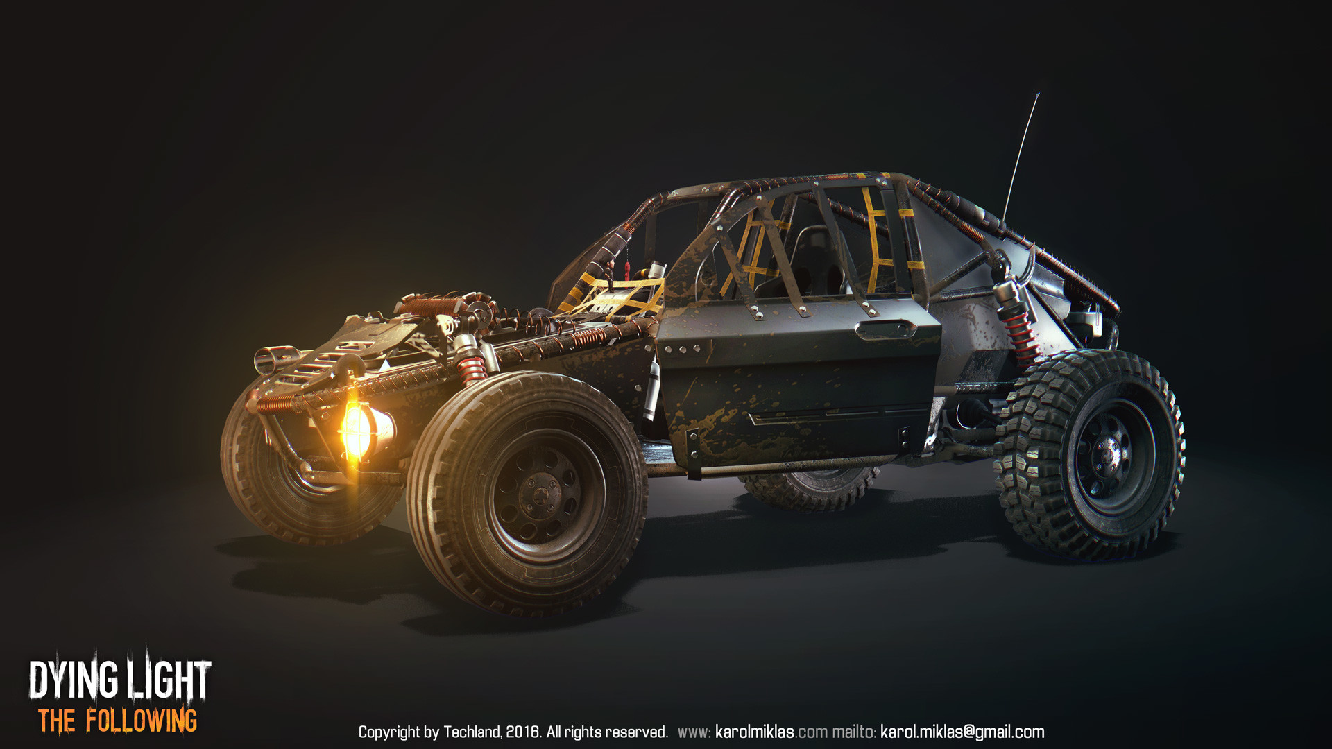 Dying Light The Following Buggy Paint Jobs