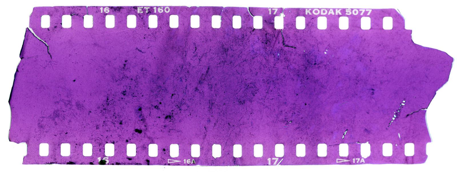 35mm Film Texture Texture Slide Film Destroyed