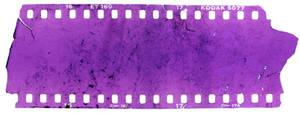 Texture slide film destroyed