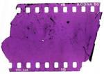 Texture slide film destroyed 2