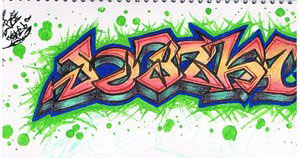 I Am Graffiti by Jebez-Kali