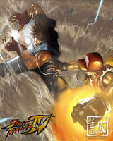 Street Fighter x FF -- REFINED by serpentwitch