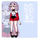 Adoptable OPEN (Paypal $5 / 500 points) by todaytoday