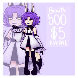 Adoptable OPEN ($5 Paypal / 500 Points) by todaytoday