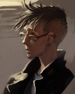 Dib portrait by ysgwood