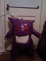 Commission: Gengar by DuctileCreations
