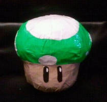 1-Up Mushroom by DuctileCreations