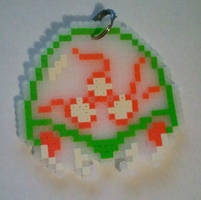Metroid Keychain by DuctileCreations