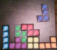 Tetris Perlers by DuctileCreations