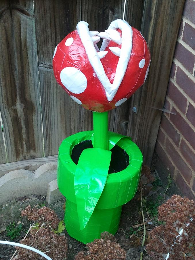 Piranha Plant by DuctileCreations