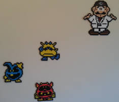 Dr. Mario and Viruses by DuctileCreations