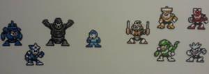 Megaman 3 Gangup by DuctileCreations