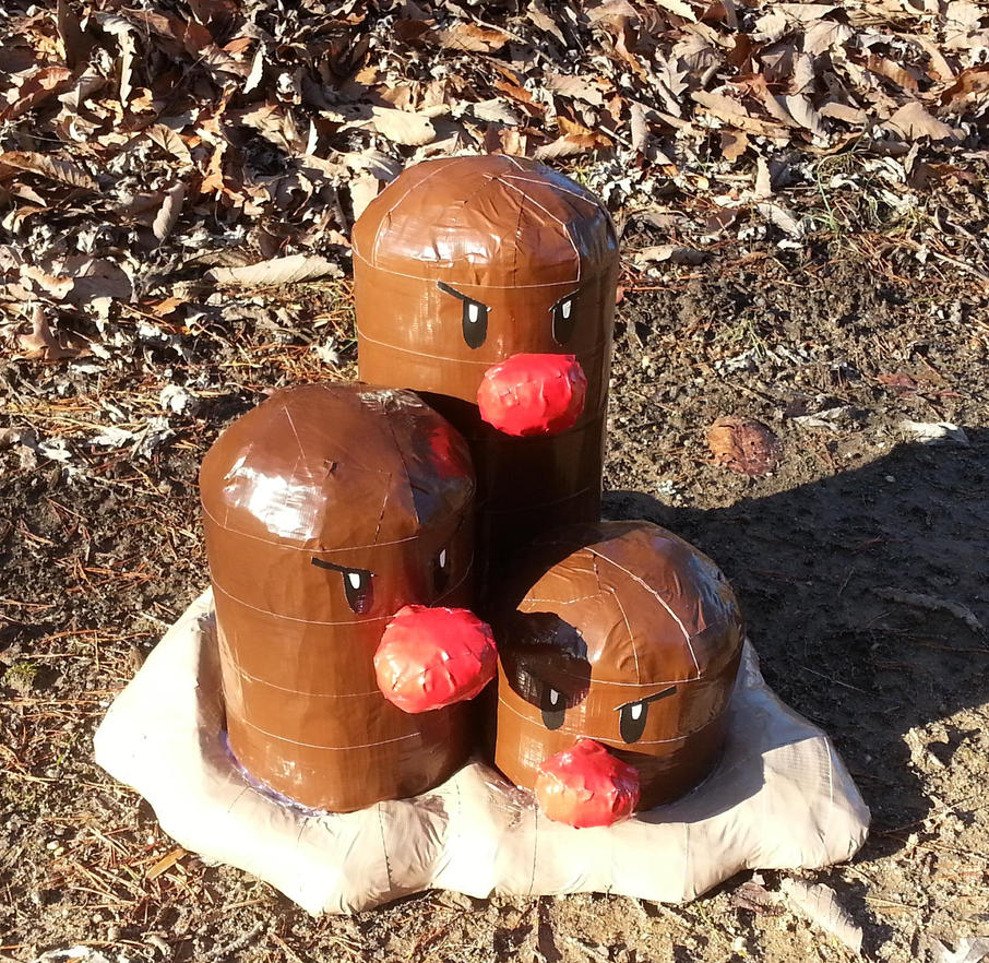 Dugtrio by DuctileCreations