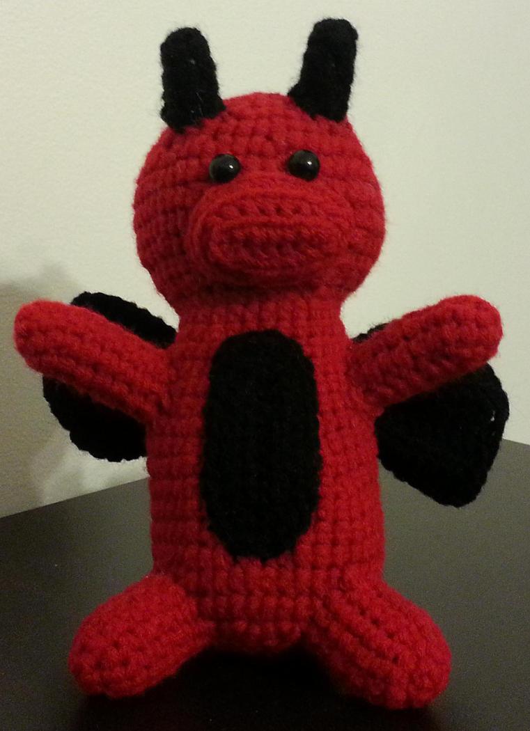 Amigurumi Crochet Dragon by DuctileCreations