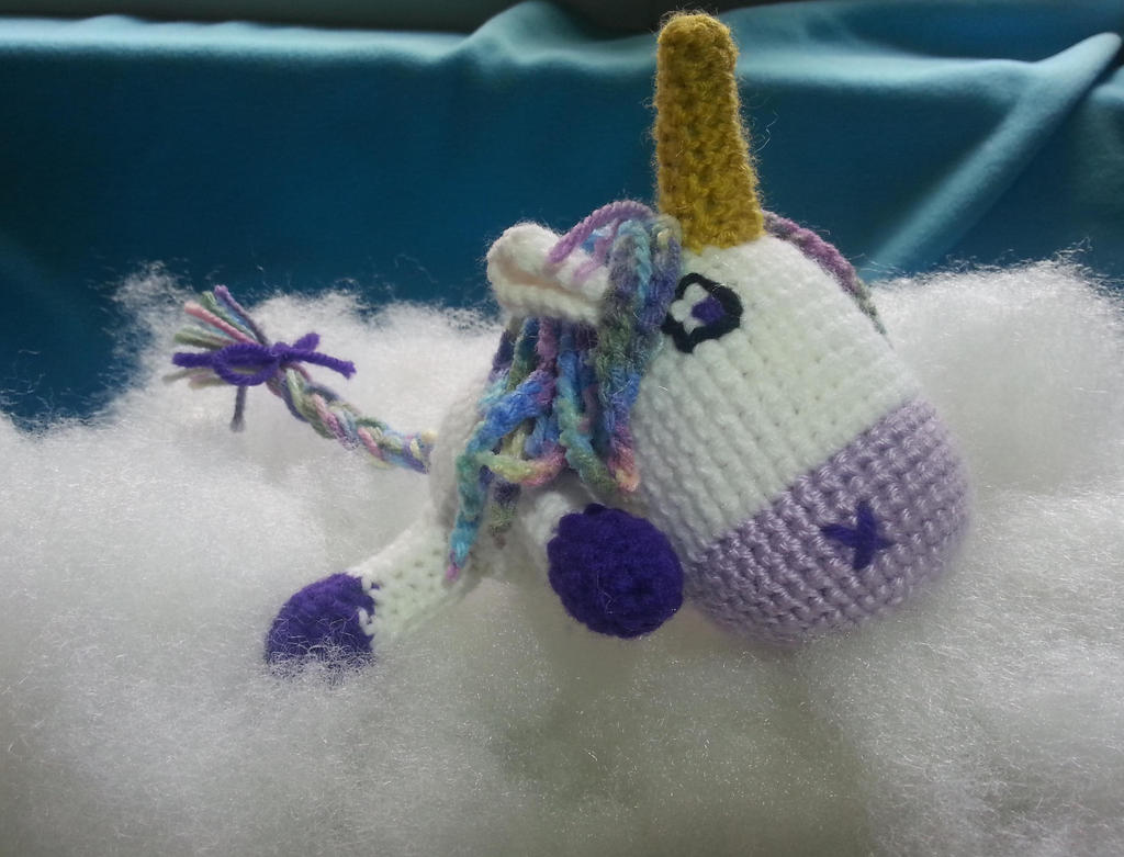 Amigurumi Crochet Unicorn by DuctileCreations