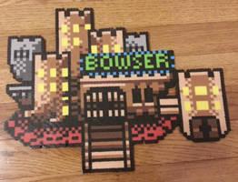 Bowser's Castle by DuctileCreations
