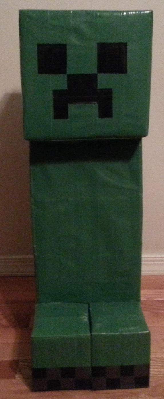 Duct Tape Creeper by DuctileCreations