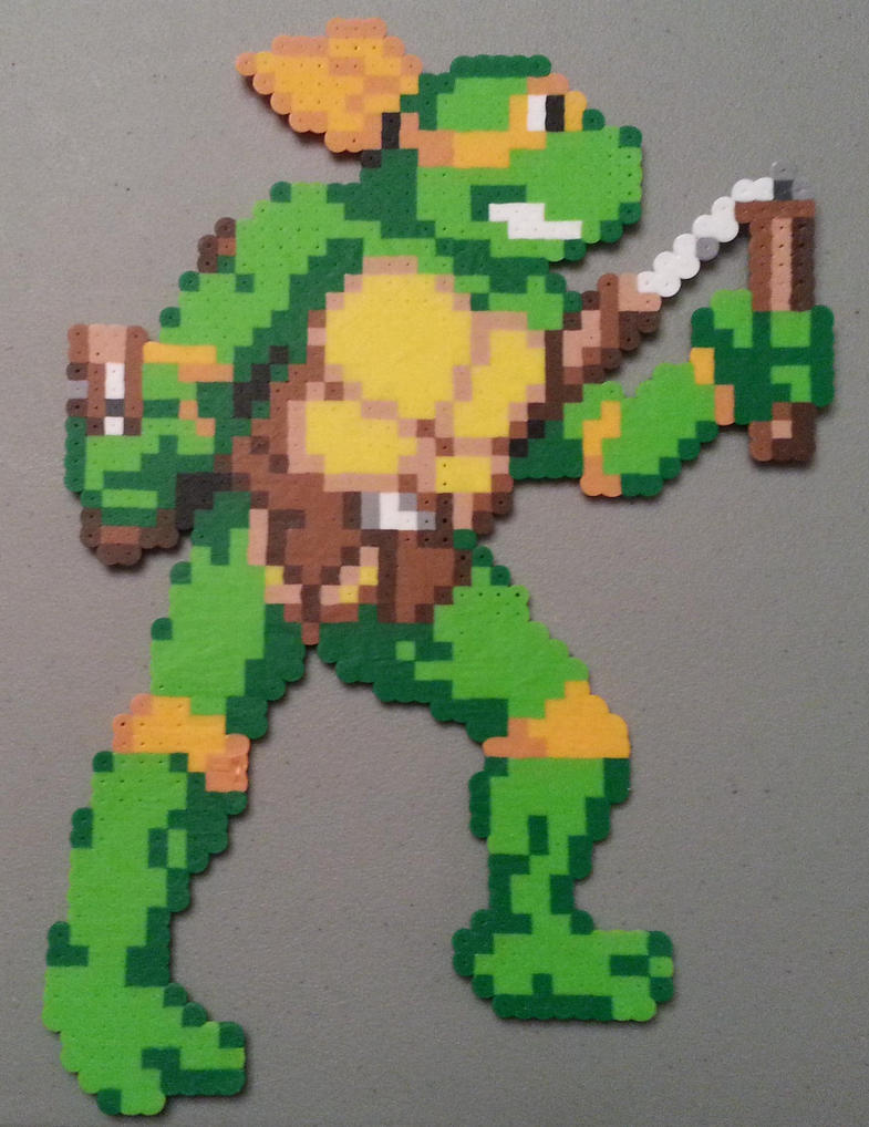 Mikey perler by DuctileCreations