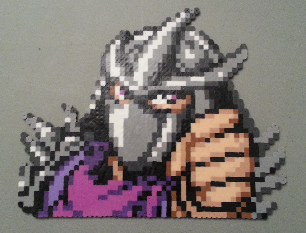 Shredder perler by DuctileCreations