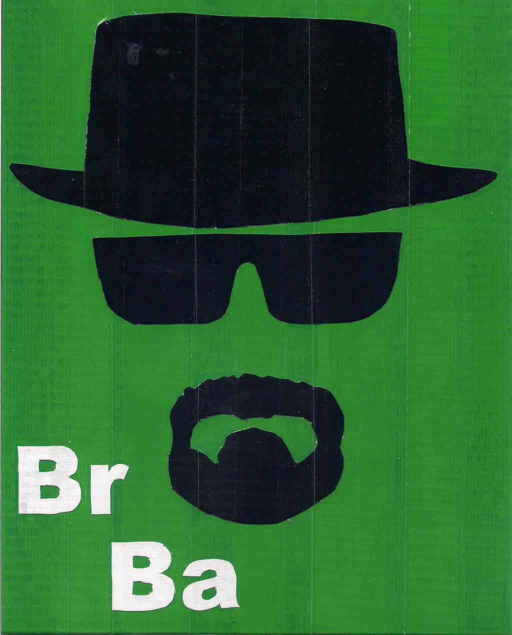Breaking Bad Duct Tape Print by DuctileCreations