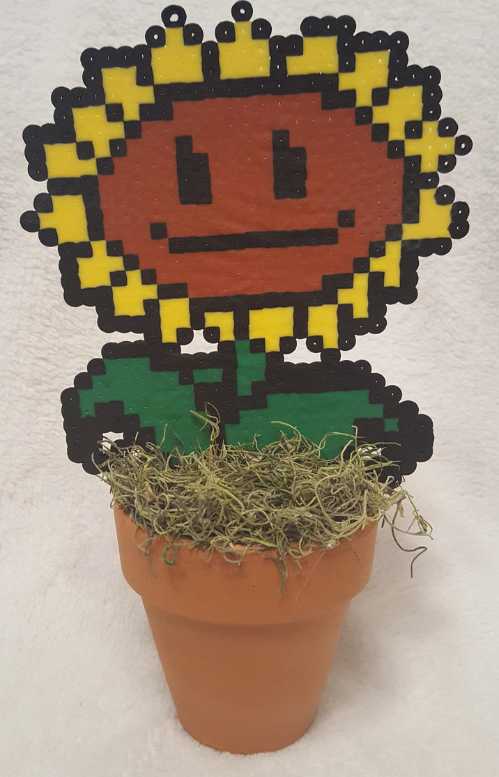 Sunflower Perler by DuctileCreations