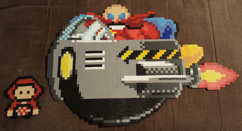 Dr. Robotnik Sprite by DuctileCreations