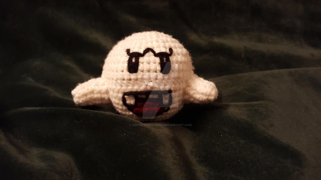 Crochet Boo by DuctileCreations