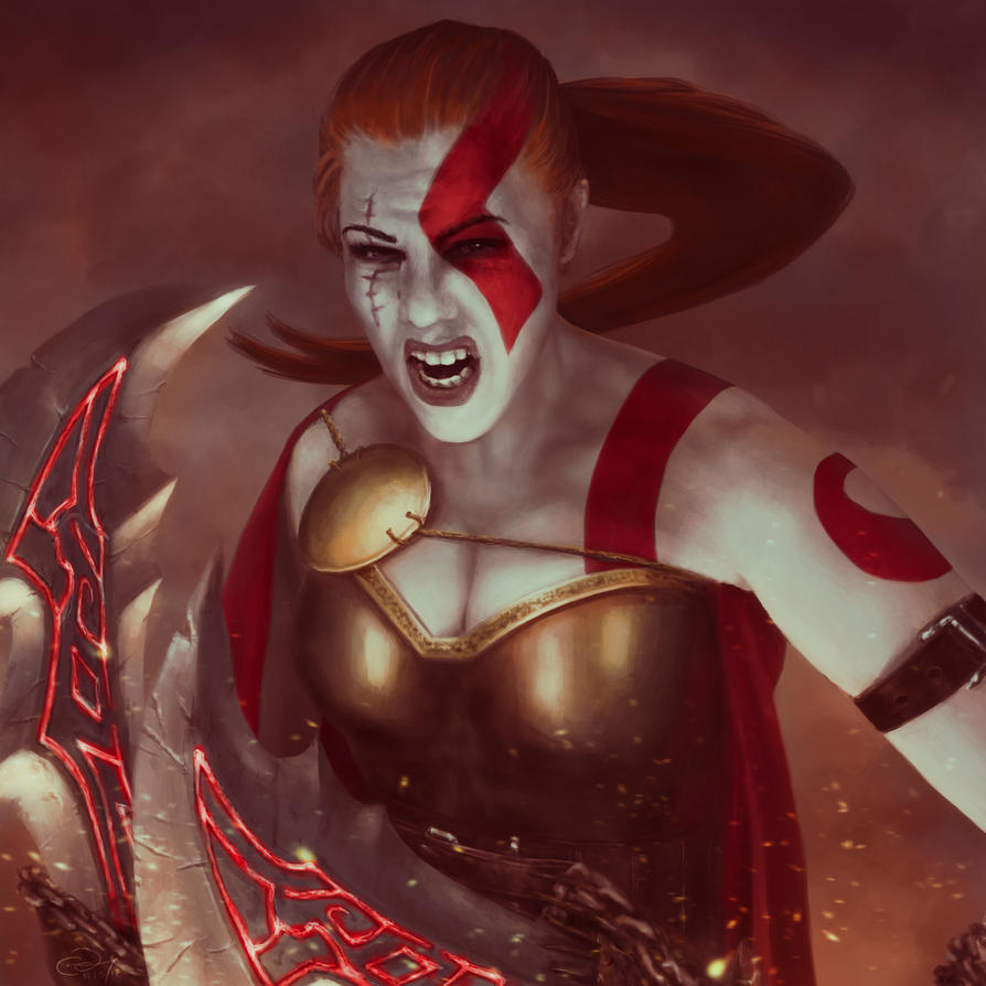Liana Kerzner - Kratos by Albek42