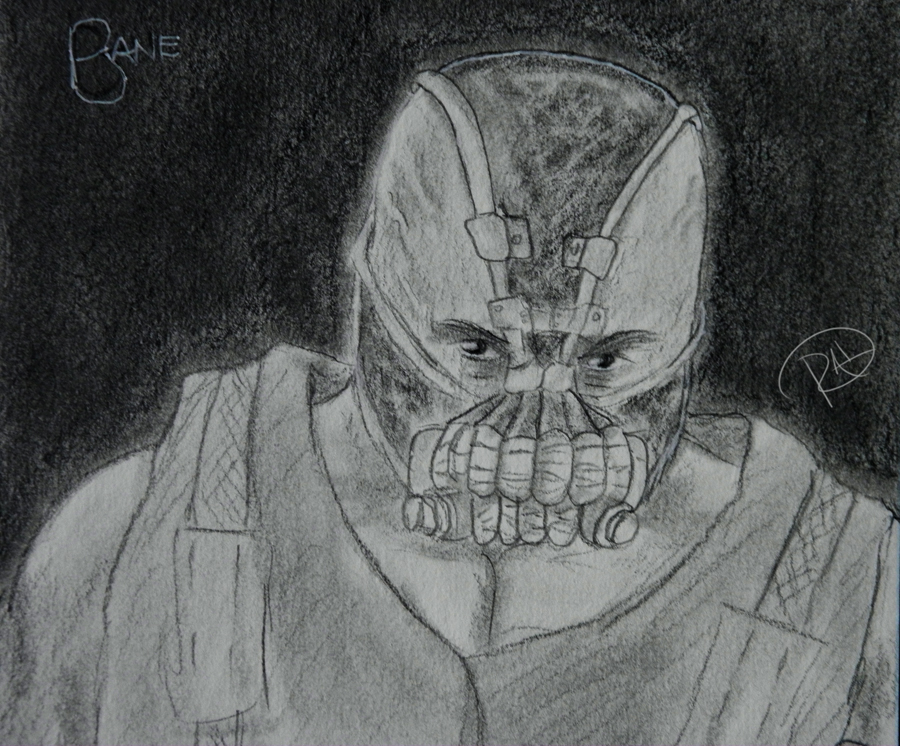 Bane Pencil by Sh3ikha on deviantART