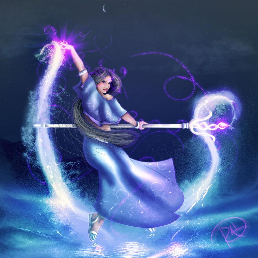 Water Mage by Sh3ikha
