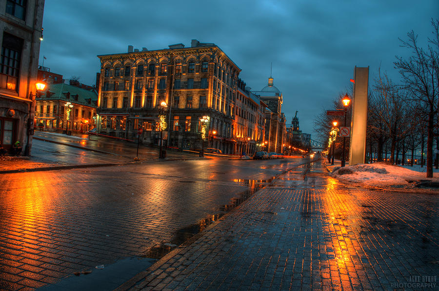 Old Montreal by alexrkv