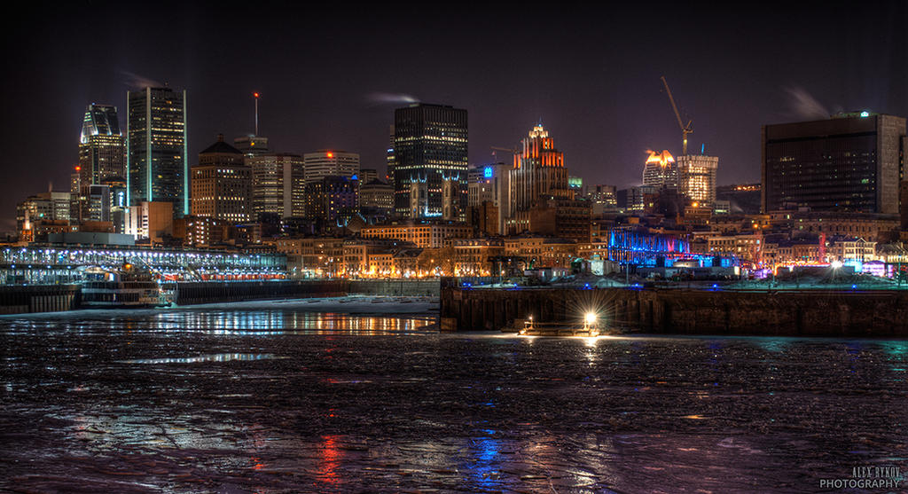 Montreal city by alexrkv