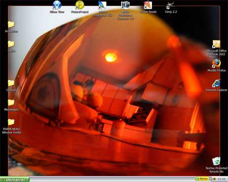 Annie's desktop by Justannie