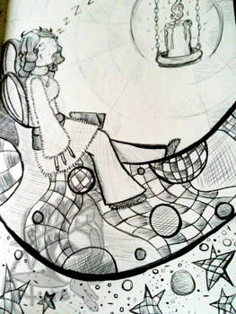 Fuzzy Nap -sketch 12-